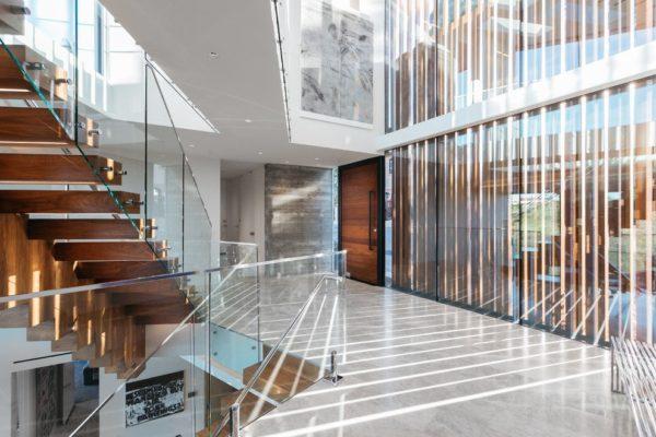 projekt nowoczesnego korytarza