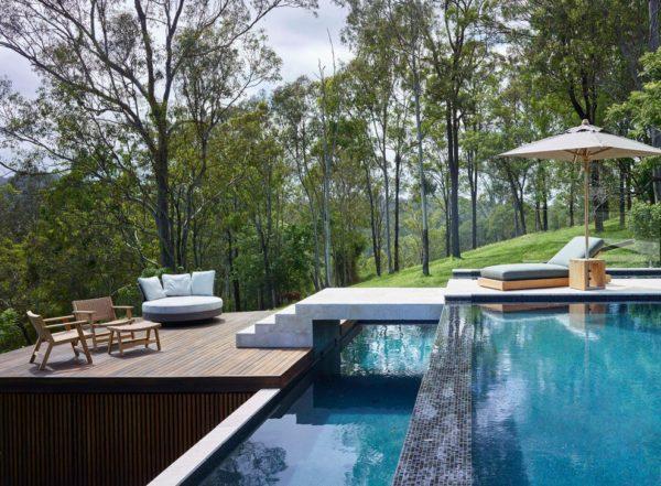 projekt nowoczesnego basenu