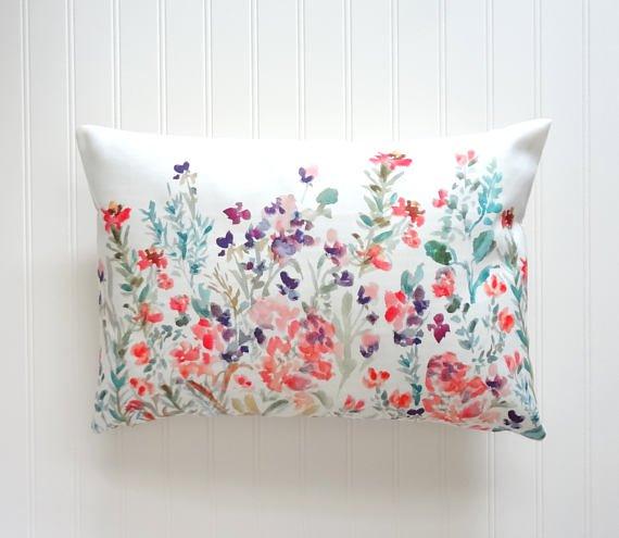ręcznie robione poduszki wiosna