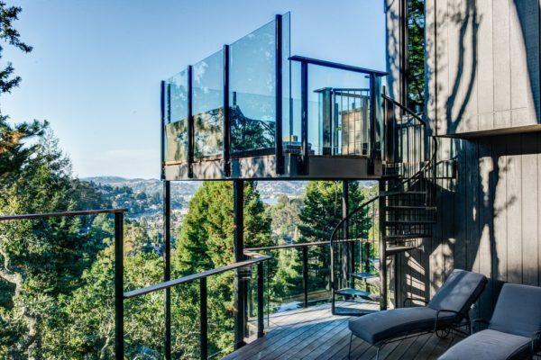 projekty nowoczesnych balkonów