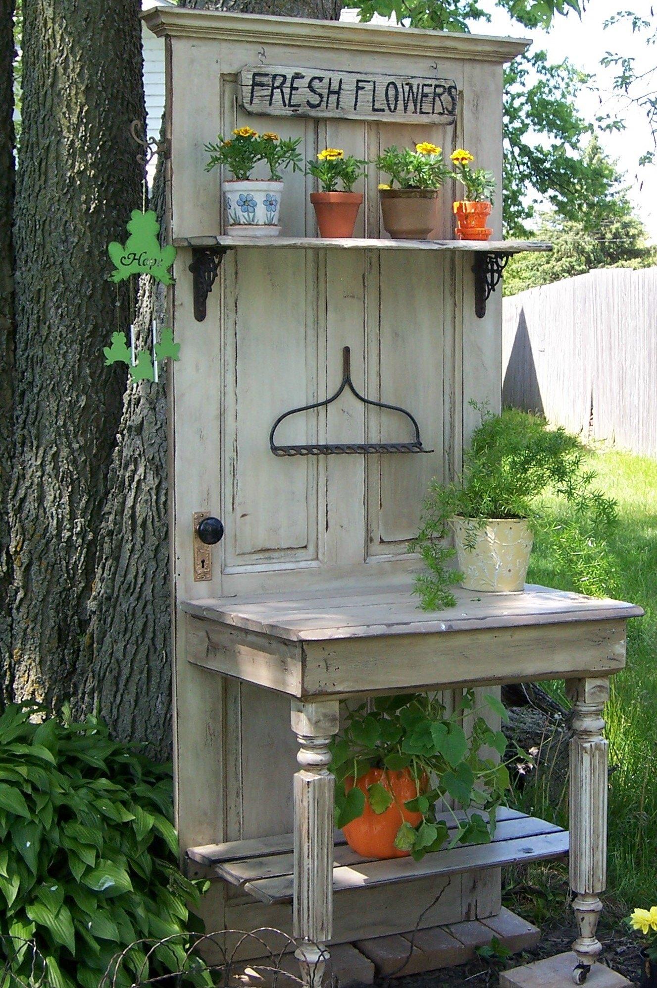Умывальник для сада своими руками