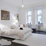 sypialnia w szwecji
