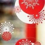 świąteczna folia dekoracyjna