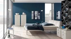 kolor intensywny w sypialni
