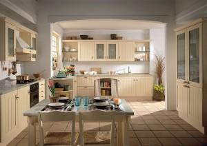aranzacja kuchni w stylu rustykalym