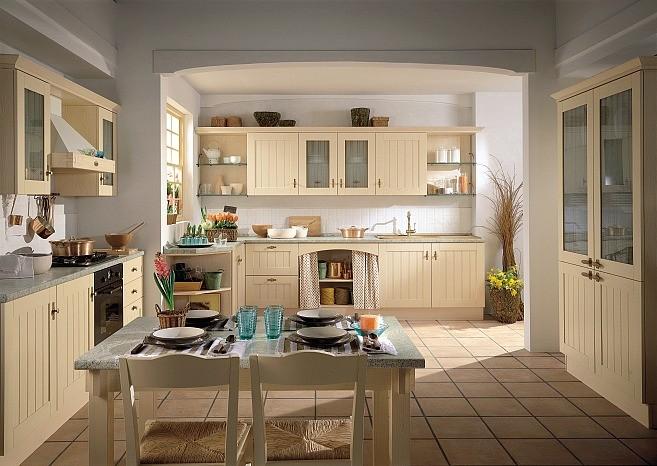 Kuchnia • Modne Wnętrza -> Kuchnia Rustykalna Dekoracje