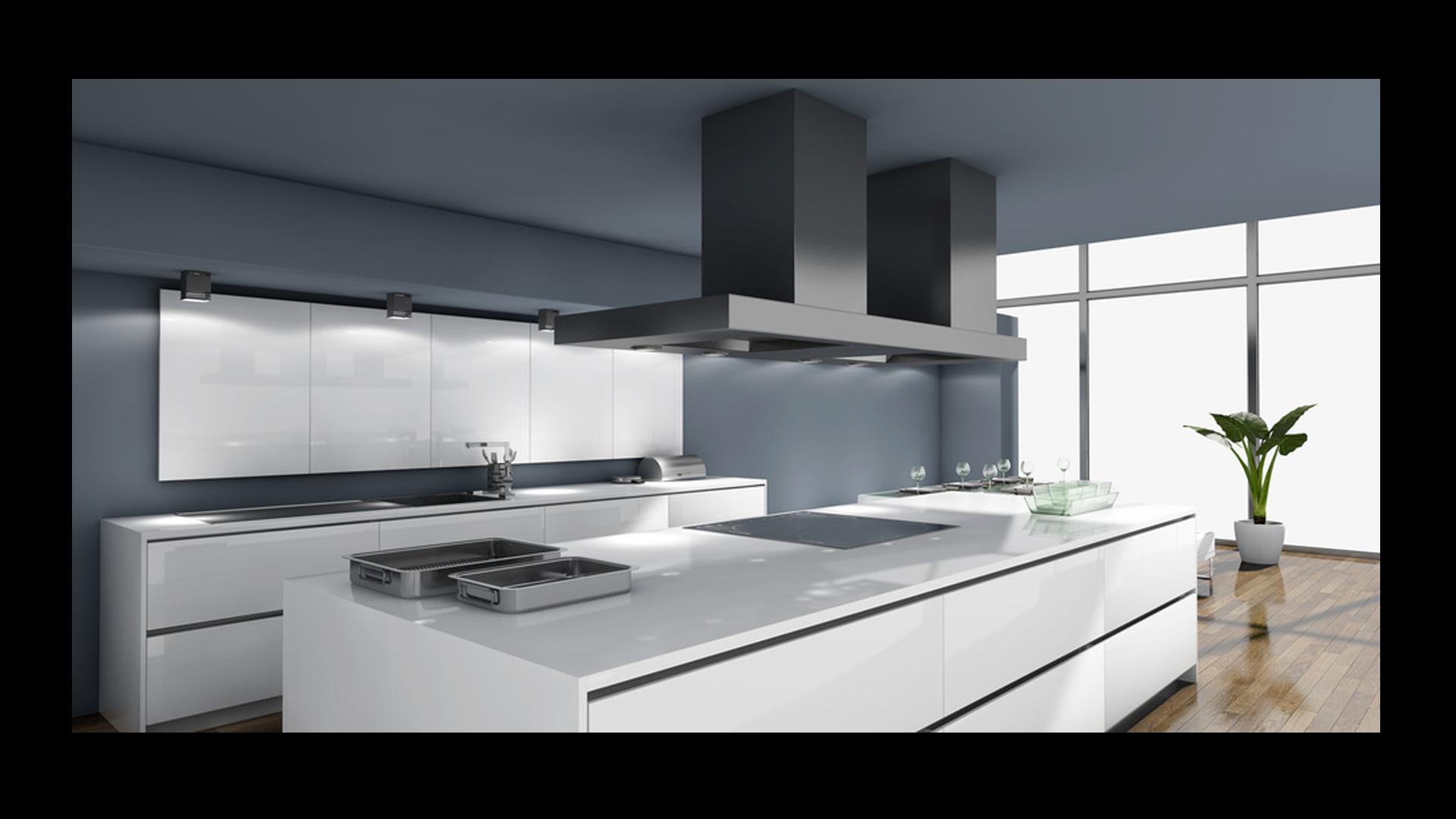 nowoczesna kuchnia • Modne Wnętrza -> Kuchnia Prowansalska Nowoczesna