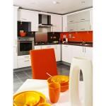 pomaranczowa kuchnia