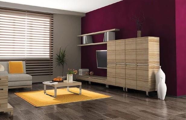 sciany w kolorze purpuru • Modne Wnętrza -> Kuchnia Kolor Scian