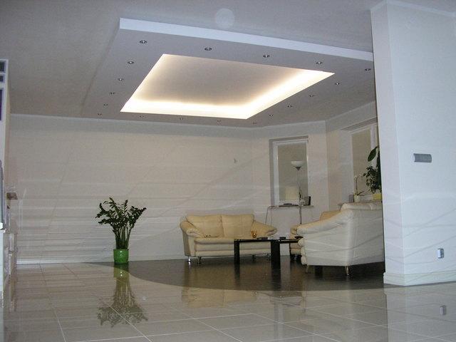 sufit podwieszany w salonie ForSufit Podwieszany W Salonie