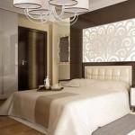 sypialnia z nietuzinkowymi lampami
