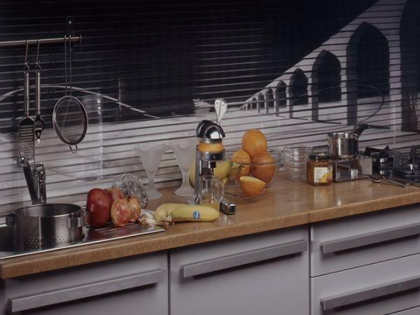 Aranżacja kuchni  co na ścianie -> Kuchnie I Tapety