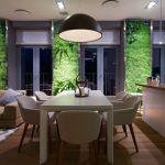zielone sciany w kuchni