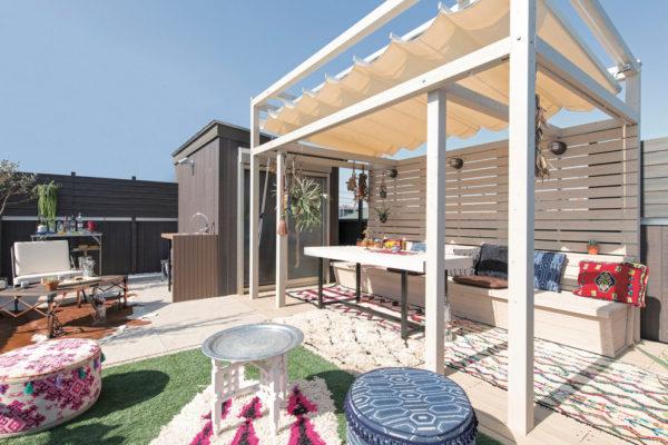 przydomowe patio projekt