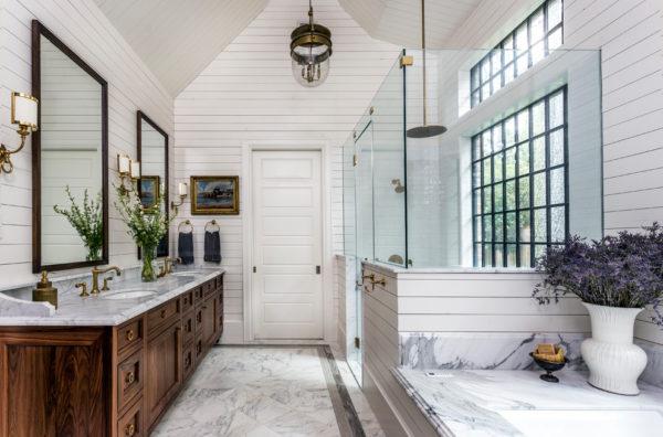 tradycyjny projekt łazienki