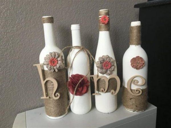 recykling butelek po winie