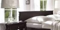 aranzacja sypialni w stylu retro