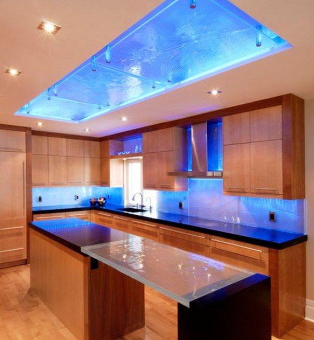 Galeria Niesamowite Oświetlenia Led W Kuchni Modne Wnętrza