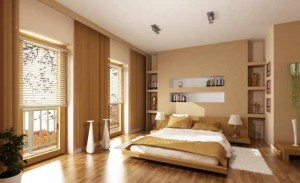 klasyczna arazacja sypialni