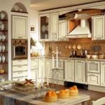 aranzacja kuchni w stylu rustykalnym