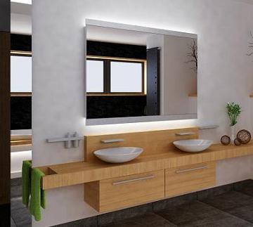 Lustra W łazience łazienka Aranżacja