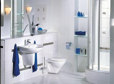 Aranżacja łazienki Kolorowe Dodatki