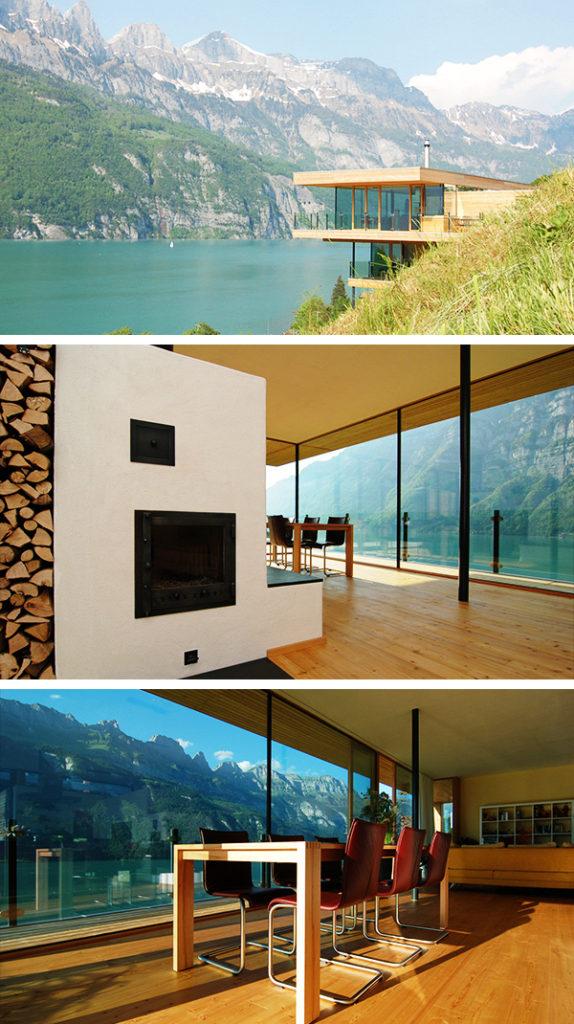 nowoczesny dom szwajcaria