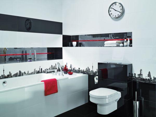 czarno-biala-łazienka