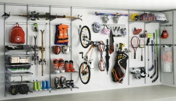 Przechowywanie W Garażu Modne Wnętrzacom