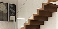 schody w salonie