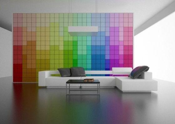 zmiana koloru ścian
